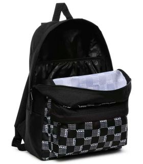 Vans Backpack Realm Classic Word Check - Backpacks-Bags