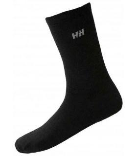 Calcetines Montaña - Helly Hansen 2 x Calcetines Everyday Merino negro Calzado Montaña