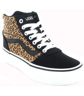 Vans Ward Hi Plateforme Leopard