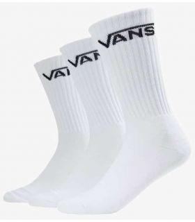 Vans Socks Classic Crew 3 pairs White - Socks Running