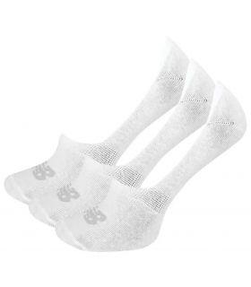 New Balance Socks No Show Liner 3 Pack White - Socks Running
