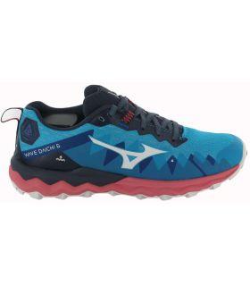 Zapatillas Trail Running Mujer - Mizuno Wave Daichi 6 W 13 azul Zapatillas Trail Running
