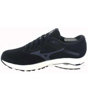 Zapatillas Running Hombre - Mizuno Wave Rider 24 Negro negro Zapatillas Running