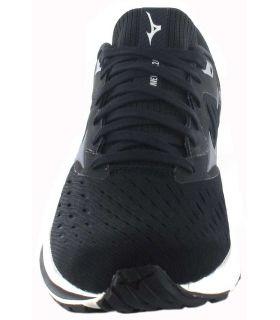 Mizuno Wave Rider 24 Black - Mens Running Shoes