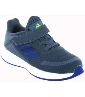 Zapatillas Running Niño - Adidas Duramos SL Velcro 16 azul Zapatillas Running