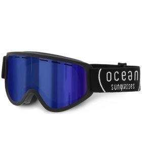 Ocean Ice Kid Black Revo Blue - Masks of Blizzard
