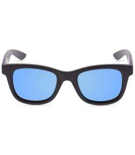 Ocean Shark Matte Black Blue - Lunettes De Soleil Casual