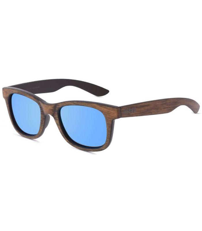 Ocean Shark Wood Blue - Gafas de Sol Casual