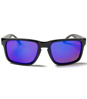 Ocean Waimea Matte Black Revo Blue - Sunglasses Casual