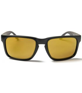 Ocean Waimea Matte Black Revo Gold - Sunglasses Casual