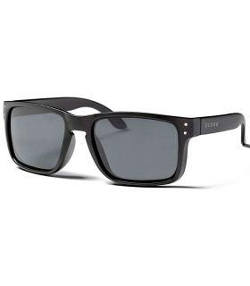 Ocean Blue Moon Matte Black Smoke - Sunglasses Casual