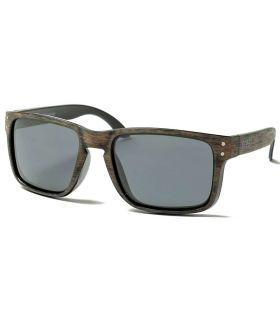 Ocean Blue Moon Wood Smoke - Lunettes De Soleil Casual