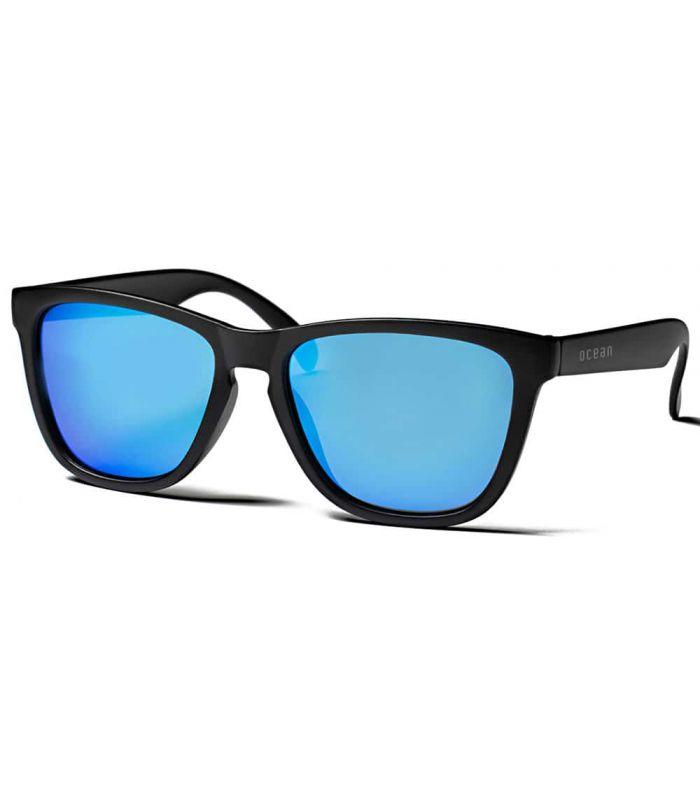 Ocean Sea Matte Black Revo Blue - Gafas de Sol Casual