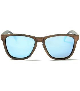 Ocean Sea Wood Revo Blue - Lunettes De Soleil Casual
