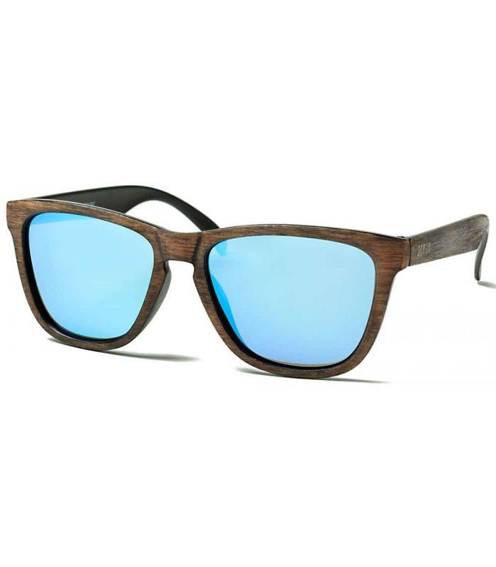 Ocean Sea Wood Revo Blue - Gafas de Sol Casual