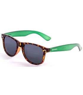 Ocean Beach Wayfarer Brown Green - Sunglasses Casual
