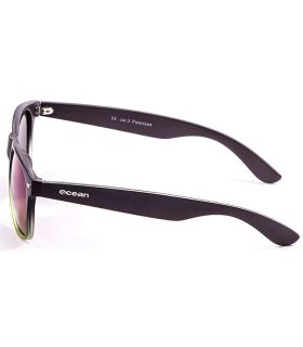 Ocean Beach Wayfarer Black Green - Sunglasses Casual