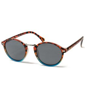 Ocean Lille Matte Brown Blue Smoke - Sunglasses Casual