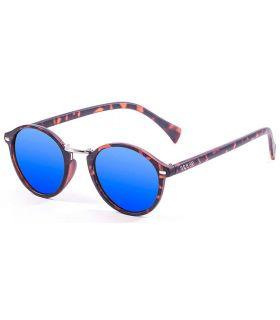 Ocean Lille Matte Brown Revo Blue - Gafas de Sol Casual