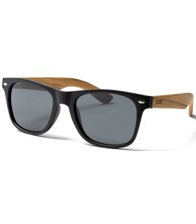 Ocean Beach Wood Black Smoke - Lunettes De Soleil Casual