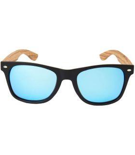 Ocean Beach Wood Black Blue