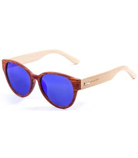Ocean Cool Brown Blue - Lunettes De Soleil Casual