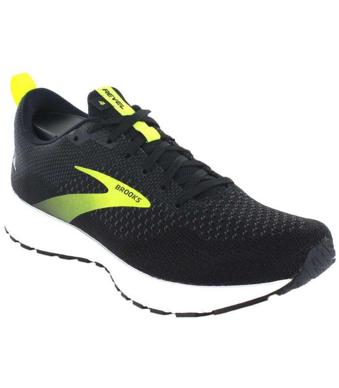 Zapatillas Running Hombre - Brooks Revel 4 negro Zapatillas Running