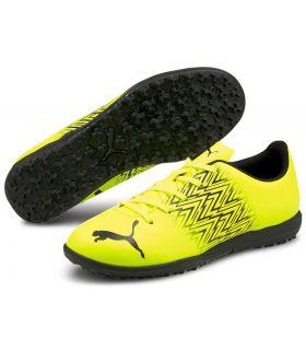 Calzado Futbol sala Junior - Puma Tacto TT Jr amarillo Calzado Futbol / Futbol sala