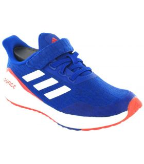 Zapatillas Running Niño - Adidas EQ21 Run Jr Velcro azul Zapatillas Running