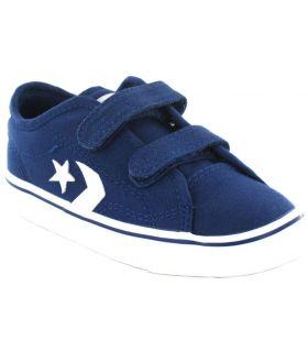 Calzado Casual Baby - Converse Star Replay 2V OX azul Lifestyle