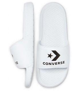 Chancletas - Converse Chanclas All Star Slide Low Top Blanco blanco Natación - Triatlón