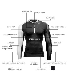 Blueball Running Tshirt Long Sleeve - T-shirts technical running