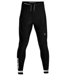 Mallas running - Blueball BB100013 Mallas Doble Compresion Hombre negro Textil Running