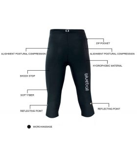 Blueball BB100004 Malles 3/4 Compression - Pantalon technique