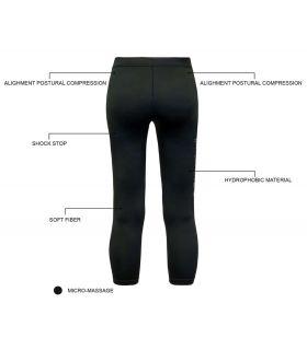 Mallas running - Blueball BB100036 Mallas 3/4 Compresion W negro Textil Running