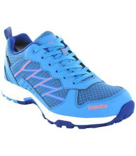 Zapatillas Trekking Mujer - Treksta Bolt W Azul Gore-Tex azul Calzado Montaña