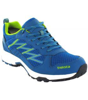 Zapatillas Trekking Hombre - Treksta Bolt Azul Gore-Tex azul Calzado Montaña