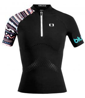 Textil Deportes Acuaticos - Blueboll BB200003 Camiseta Deportes Acuaticos Mujer negro Natación - Triatlón