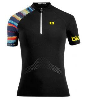 Textil Deportes Acuaticos - Blueboll BB200004 Camiseta Deportes Acuaticos Mujer negro Natación - Triatlón