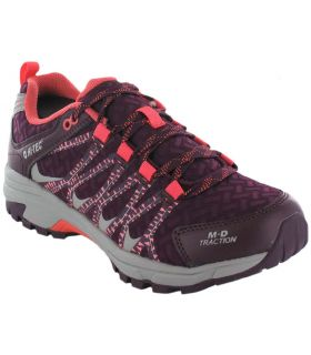 Zapatillas Trail Running Mujer - Hi-Tec Cima Trail W morado Zapatillas Trail Running
