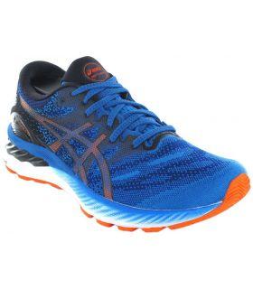 Zapatillas Running Hombre - Asics Gel Nimbus 23 400 azul Zapatillas Running
