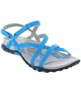 Tienda Sandalias / Chancletas Mujer - Izas Tena Turquoise azul Sandalias / Chancletas