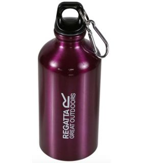 Regatta Bottle Aluminium 0.5 Litre Purple - Water bottles
