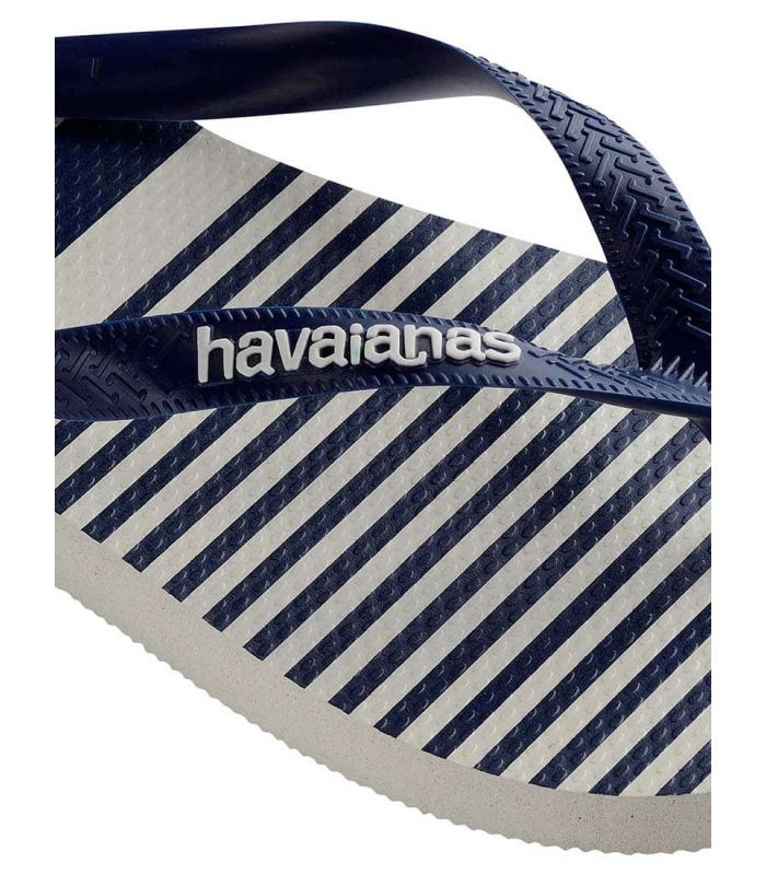 Tienda Sandalias / Chancletas Hombre - Havaianas Top Nautical blanco Sandalias / Chancletas