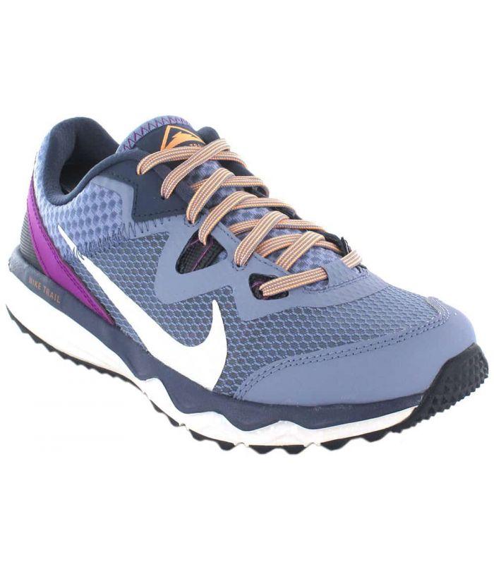 Zapatillas Trail Running Mujer - Nike Juniper Trail W morado Zapatillas Trail Running