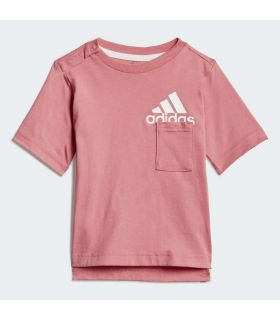 Adidas Conjunto Badge Of Sport Summer - Camisetas técnicas running