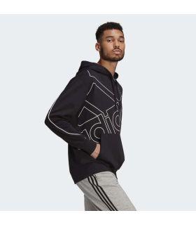 Adidas Sweatshirt with Giant Logo Hood - Lifestyle sweatshirts