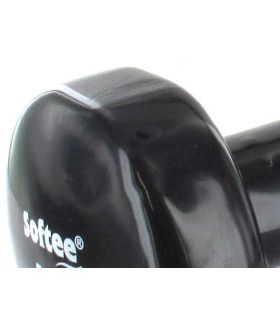 Pesas - Tobilleras Lastradas - Pesas Vinillo 2 x 5 Kg negro Fitness