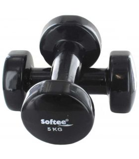 Dumbbells Vinillo 2 x 5 Kg - Weights-Weighted Billets