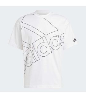 Adidas Giant Logo Tee Blanco - Camisetas Lifestyle